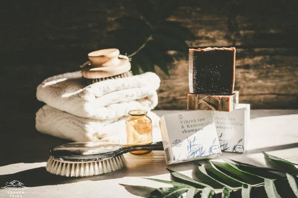 psoriasis shampoo Saaren Taika luonnollinen palashampoo