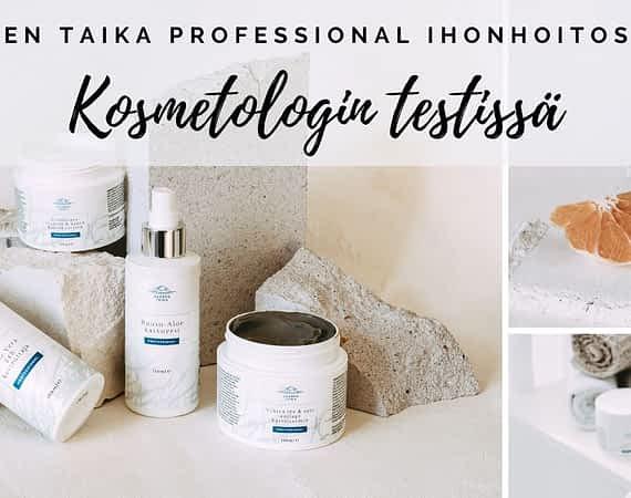 Saaren Taika Professional ihonhoitosarja kosmetologin testissä