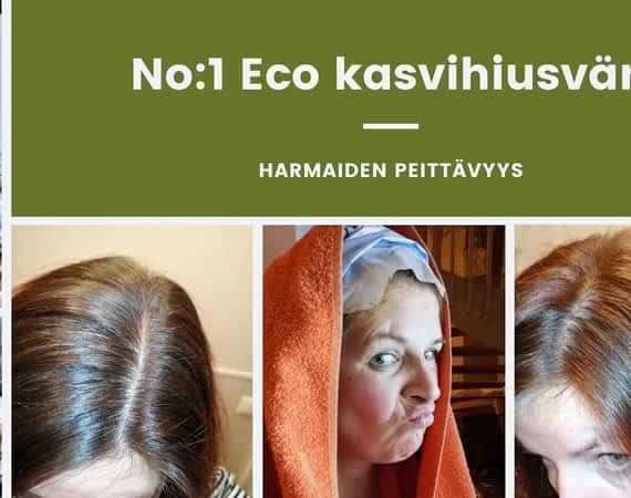 Harmaiden peittävyys No_1 Eco kasvihiusväri