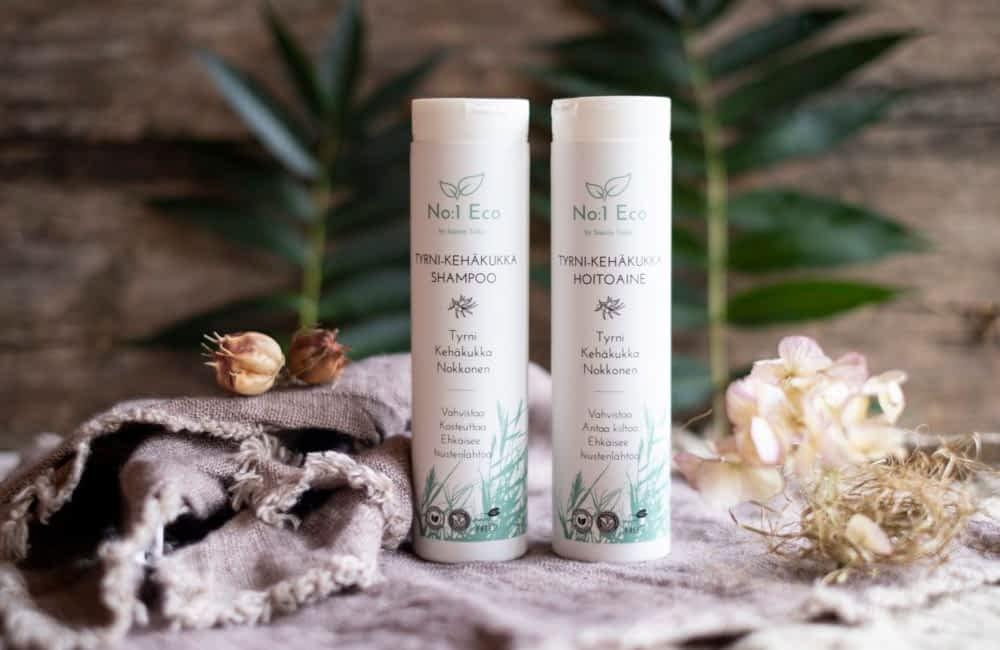 No1 Eco by Saaren Taika tyrni kehäkukka nokkonen shampoo hoitoaine luonnonkosmetiikkaa (5 of 9)
