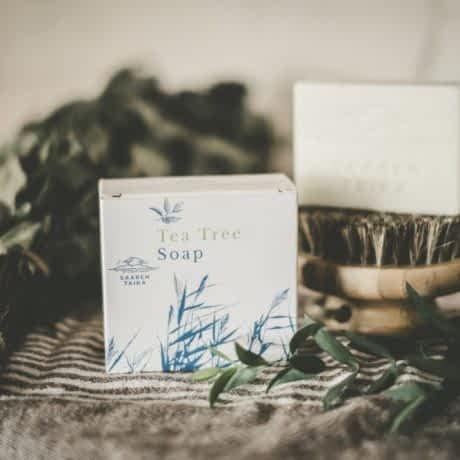 tea tree soap vegan natural green cosmetics